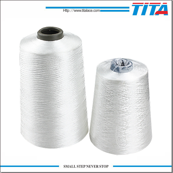 Raw White Polyester Embroidery Thread 150D/2 150D/3